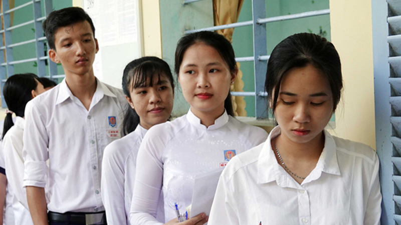 Đề thi tham khảo Môn Toán THPT Quốc gia năm 2020