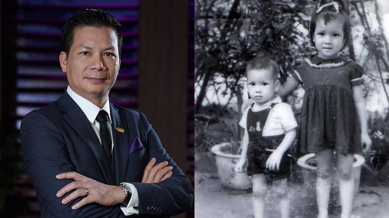 Khoe ảnh thời thơ ấu, Shark Hưng gây chú ý với thần thái 'doanh nhân' từ bé