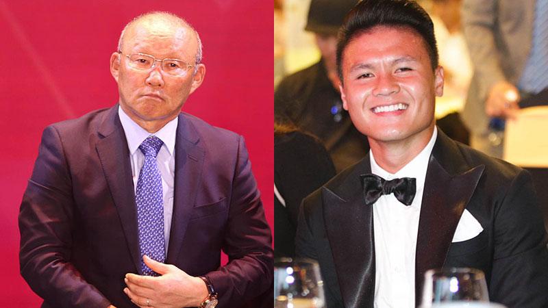 Phản ứng bất ngờ của Quang Hải khi HLV Park Hang-seo khuyên 'nhường' Quả bóng vàng cho người khác