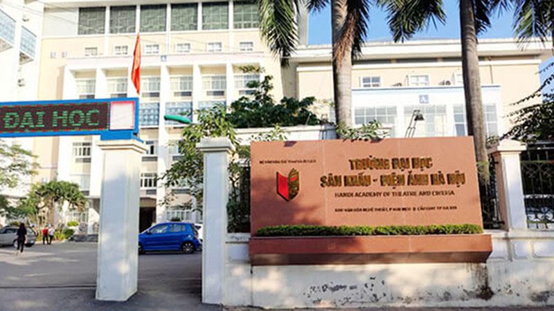 Đại học Sân khấu Điện ảnh Hà Nội công bố phương thức tuyển sinh: kết hợp xét tuyển và thi tuyển