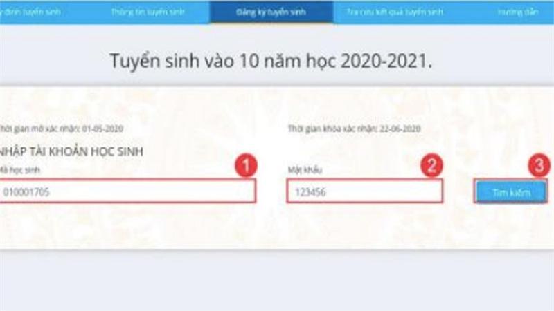 Hôm nay, Hà Nội mở hệ thống xác nhận nhập học trực tuyến lớp 10