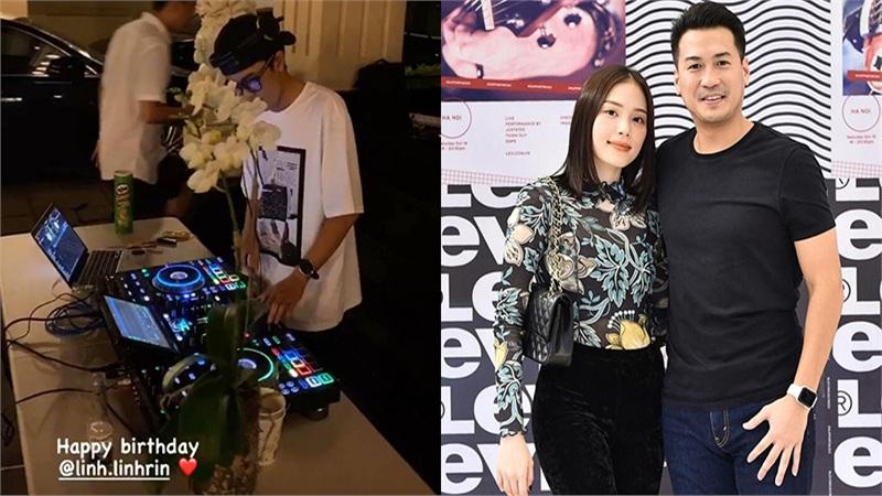Em chồng Hà Tăng tổ chức sinh nhật cho Linh Rin tại biệt thự gia đình, quy mô không phải dạng vừa