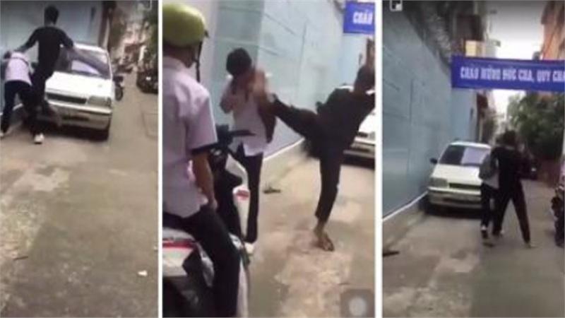 Côn đồ đánh nam sinh dã man: 'Có võ Muay Thái'