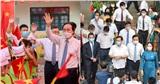 Bí thư Thành ủy Hà Nội, Bộ trưởng Bộ Giáo dục và Đào tạo dự Lễ khai giảng cùng học sinh Thủ đô