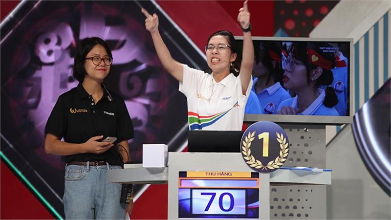 Chiến thắng tuyệt đối, nữ sinh Ninh Bình xuất sắc giành Quán quân Đường lên đỉnh Olympia 2020