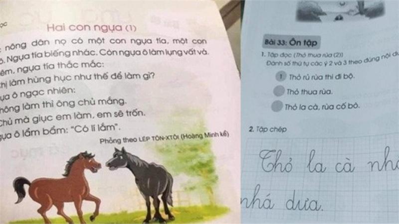 Sách Tiếng Việt lớp 1 nặng và 'sạn': Rà soát lại toàn bộ là cần thiết?