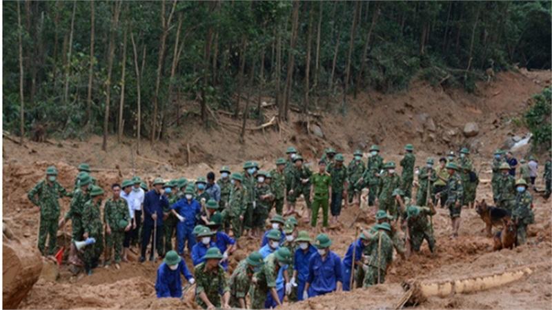 Tìm thấy toàn bộ 13 thi thể cán bộ, chiến sĩ đoàn công tác gặp nạn tại trạm kiểm lâm 67