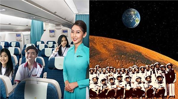 Khi lớp người ta đi du lịch: Du hí trong nước đã là gì, phải lên tận... sao Hỏa mới oách nha