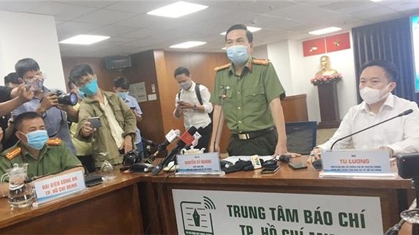 Họp báo khởi tố vụ án hình sự tiếp viên hàng không làm lây lan dịch bệnh Covid-19 ở TP.HCM