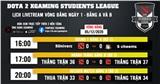 Vòng Loại Dota 2 Xgaming Students League - Techies cùng những con số ấn tượng trong ngày khởi tranh!