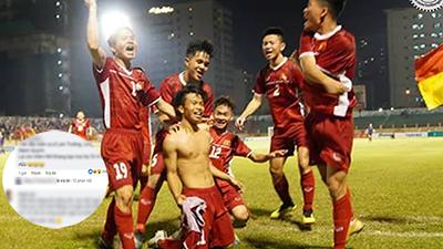 U19 Thắng Thái Lan nhưng dân mạng lại phát hiện điều cực kì thú vị từ các cầu thủ