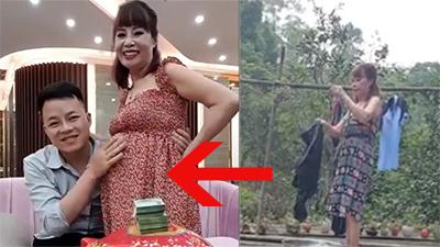 Dân mạng phát hiện chi tiết bất thường tố cáo cô dâu 62 tuổi 'mang thai giả'?