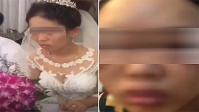 Sau khi thể hiện thái độ 'bánh bao hấp nước', cô dâu bị chồng đánh 'không trượt phát nào'?