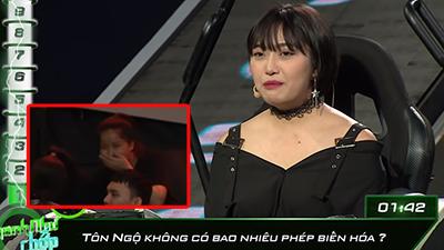 Khẳng định Tôn Ngộ Không có 92 phép, vợ của Vinh Râu (FapTv) bị khán giả chỉ trích khi tham gia 'Nhanh như chớp'