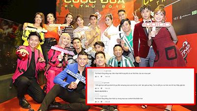 Fan lại dậy sóng với đội ngũ dựng phim của 'Cuộc đua kỳ thú': Nhạt hơn chữ nhạt!