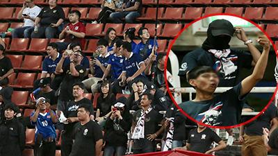 Fan Thái Lan có hành động xấu, giơ 'ngón tay thối' trên khán đài khi nghe đọc tên HLV Park Hang-seo