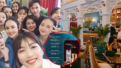 Quán 'café showiz ở Đà Nẵng': Menu giá... hết hồn, khách check-in toàn sao hạng A