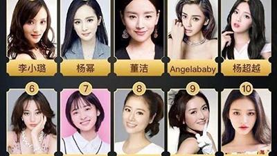 Lộ diện 20 nữ ngôi sao bị ghét nhất Trung Quốc, Dương Mịch xếp thứ 2 còn nhân vật đầu tiên ai cũng thấy xứng đáng