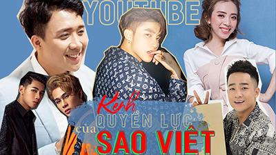 Top 5 kênh Youtube nút vàng của sao Việt, Sơn Tùng M-TP vẫn đứng đầu bảng
