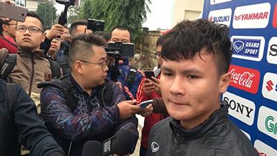 Phóng viên Thái cố tình gài Quang Hải câu hỏi tạo sóng, ngay lập tức nhận câu trả lời ngắn gọn nhưng siêu phũ