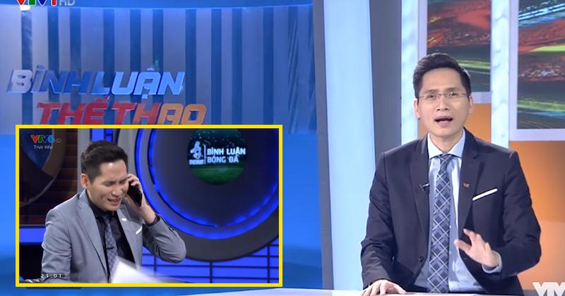 BTV Quốc Khánh bất ngờ lên tiếng xin lỗi Bùi Tiến Dũng trên sóng trực tiếp VTV: 'Khi đã nỗ lực hết mình thì không có lỗi'