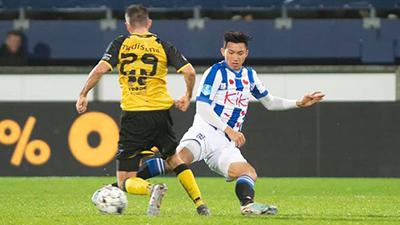 HLV Heerenveen tiếc nuối: Lẽ ra tôi đã có thể cho Văn Hậu vào sân sớm hơn