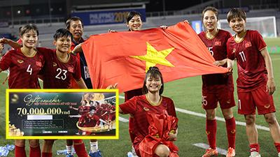 Phẫn nộ chiêu lợi dụng tuyển nữ Việt Nam để PR: Tặng quà kiểu 'đố sử dụng được', hô thưởng chục triệu nhưng không phải tiền mặt