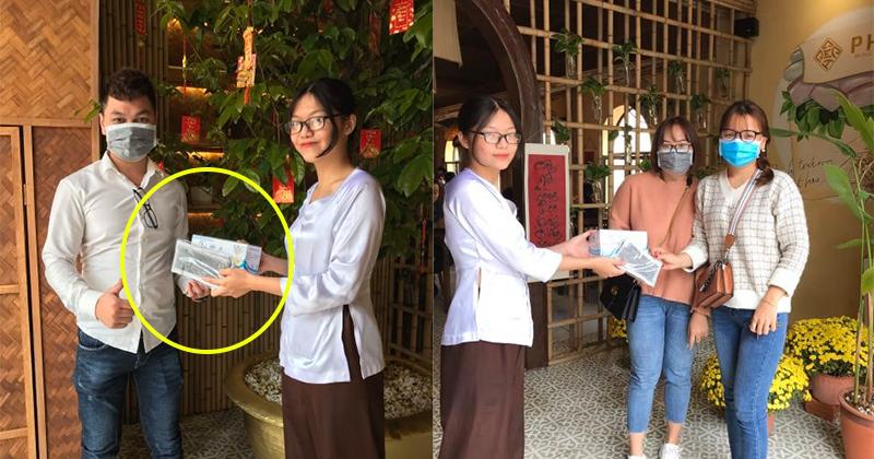 'Dằn mặt' những tiệm thuốc đẩy giá khẩu trang, nhà hàng ở Đà Nẵng ngay lập tức triển khai phát khẩu trang miễn phí