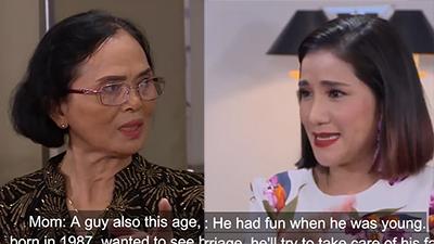 Phát ngôn của người mẹ 'bà nội thiên hạ' trong show hẹn hò khiến MC Cát Tường bức xúc: 'Mới vô mà cô đã bảo không được rồi'