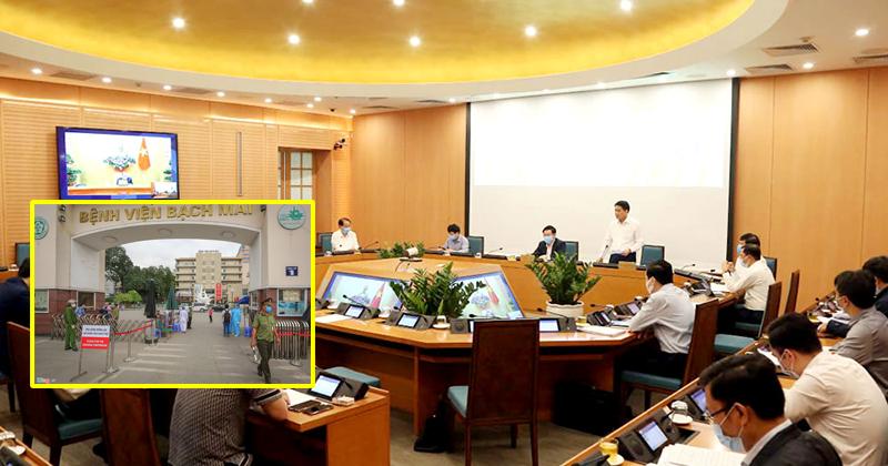 Chủ tịch Hà Nội tiết lộ điều đáng lo ngại: BV Bạch Mai đã chuyển 5.113 trường hợp về khắp các tỉnh thành, Hà Nội tiếp nhận 1.592 trường hợp
