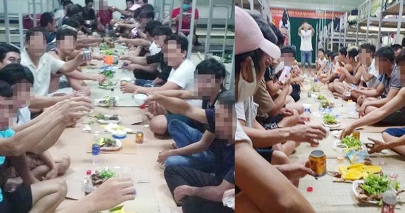 'Đại tiệc' vô tiền khoáng hậu: 30 người sắp hết hạn cách ly tổ chức ăn nhậu tưng bừng, khai gian dối khi bị điều tra