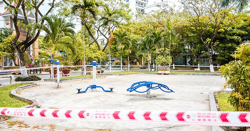 Công viên chính thức trở thành khu vực cấm ở Đà Nẵng: Không có bất kì hoạt động nào được phép diễn ra!