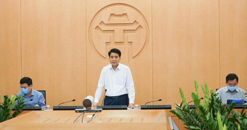 Chủ tịch HN: 'Chúng tôi hiểu, mọi người ở nhà cũng bí bách nhưng cần khắc phục vì chính mình và xã hội'