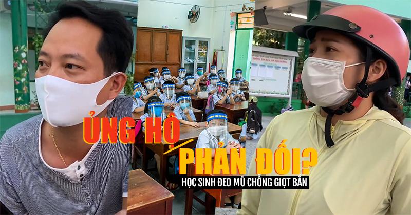 Phụ huynh nổ ra tranh cãi việc học sinh đeo mũ chống giọt bắn, Hiệu trưởng nhà trường lên tiếng