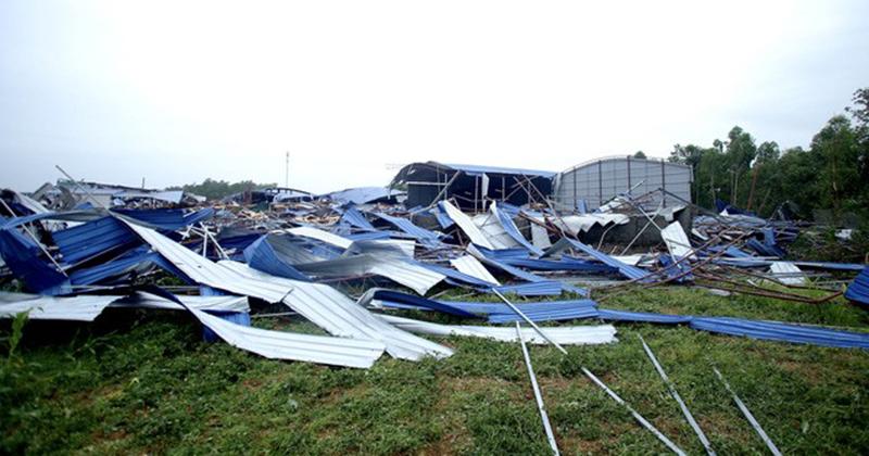 Lý giải về lốc xoáy trong 5 phút khiến 21 người thương vong ở Vĩnh Phúc