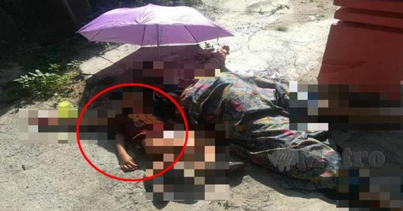 Chồng giết vợ trước mắt 2 con trai, hiện trường vụ án gây xót xa với hình ảnh đứa trẻ nằm cạnh thi thể mẹ không rời