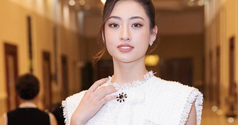 Hoa hậu Lương Thùy Linh hội ngộ Á hậu Tường San - Thúy An, cùng diện váy trắng đẹp hết phần người khác
