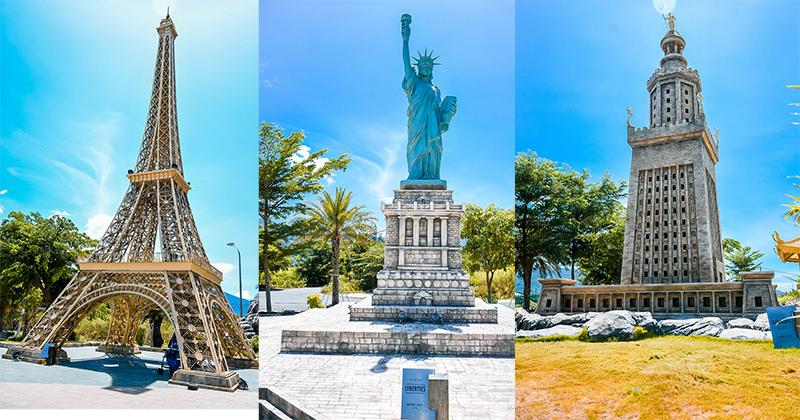 Công viên kỳ quan thế giới ở Đà Nẵng: Lời gợi ý cho các tín đồ sống ảo có ngay ảnh xịn chẳng cần đi xa!