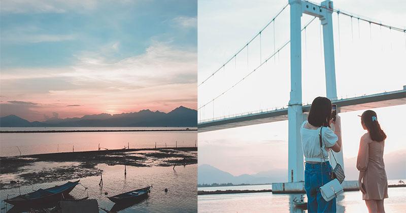 Nơi 'nắm trọn Mặt Trời trong tay' ở Đà Nẵng, gái xinh ào ào kéo nhau ra chụp ảnh so deep