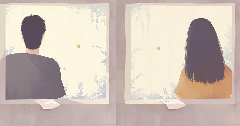 Yêu đơn phương trong chính cuộc tình: Câu chuyện của hai người chỉ do một người viết nên