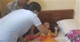 Hình ảnh mới nhất của cháu bé bị bắt cóc Bắc Ninh sau khi được giải cứu an toàn