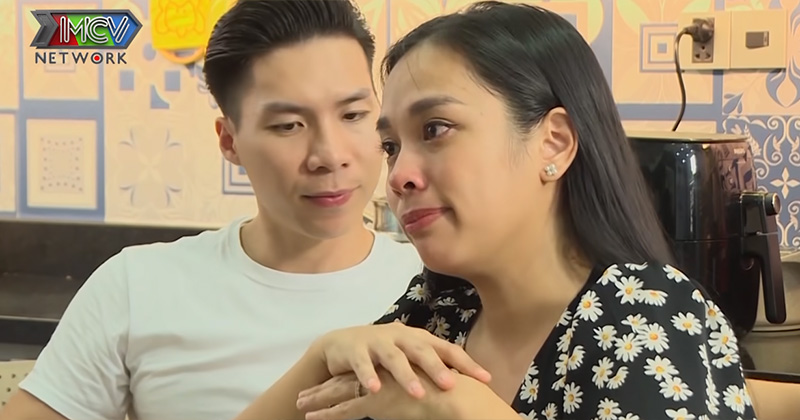 Vợ Quốc Nghiệp bật khóc nức nở khi nói về mẹ chồng: 'Ngay từ đầu về làm dâu, em không sống với anh Nghiệp'