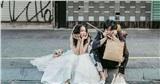 Ảnh cưới mùa dịch bệnh: Cô dâu chú rể hóa 'cái bang' vì không có việc làm