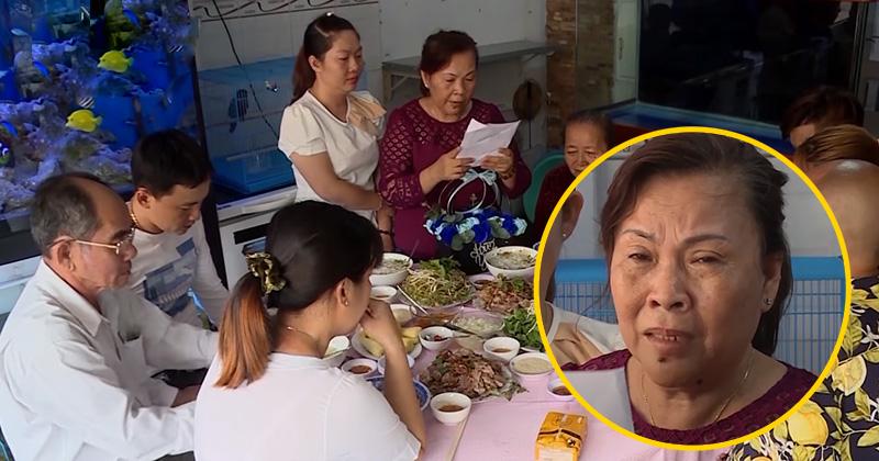 Mẹ chồng bật khóc giữa bữa tiệc khi đọc lá thư của con dâu: 'Không biết rời xa gia đình đến một gia đình khác thì thế nào?'