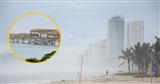 Hình ảnh hy hữu giữa lúc bão số 5: Một cây cầu ở Đà Nẵng bất ngờ nâng trục để tàu thuyền qua lại!