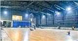 Phim trường gấp rút biến thành nhà thi đấu 'dã chiến' thi đấu giải bóng rổ lớn nhất Việt Nam