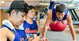 Trước giờ G VBA 2020, cầu thủ Hanoi Buffaloes đổ bộ phòng tập gym