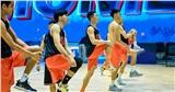Đội hình bóng rổ Danang Dragons tập luyện căng thẳng sẵn sàng để 'Rồng thức giấc'