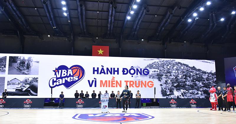 Hành động đẹp từ giải đấu bóng rổ chuyên nghiệp Việt Nam: 'Thương thôi chưa đủ, phải hành động!'