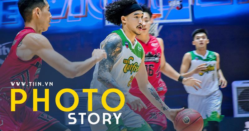 Photo Story: Cantho Catfish lội ngược dòng ấn tượng, Thang Long Warriors nhận thất bại đầu tiên
